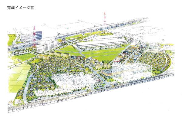 星田北駅前計画